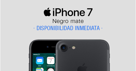 Comprar iPhone 7 Negro Mate