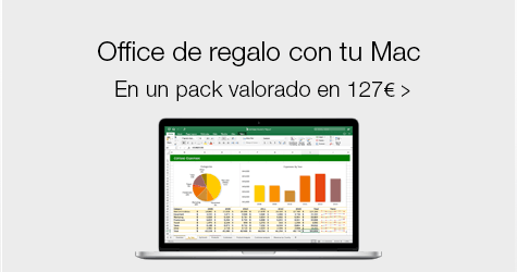 De regalo office con tu mac